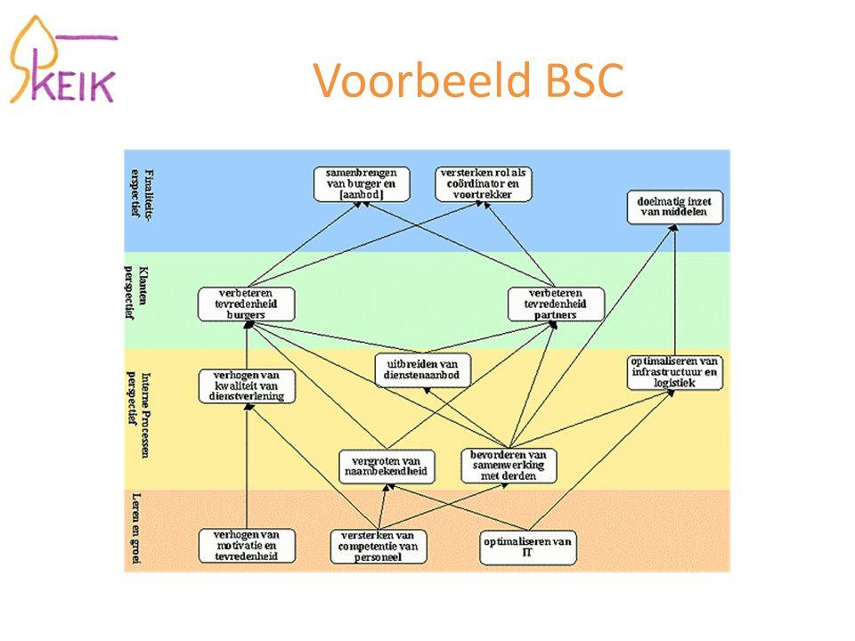 Voorbeeld BSC