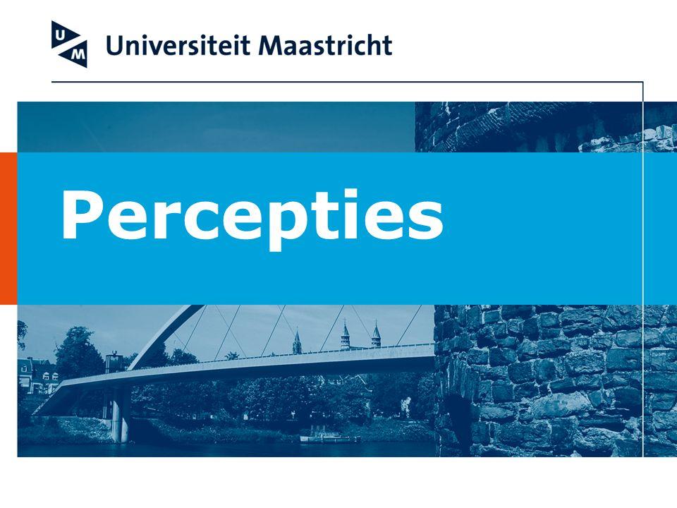 Perceptie vragen Het maken van een portfolio: 31.
