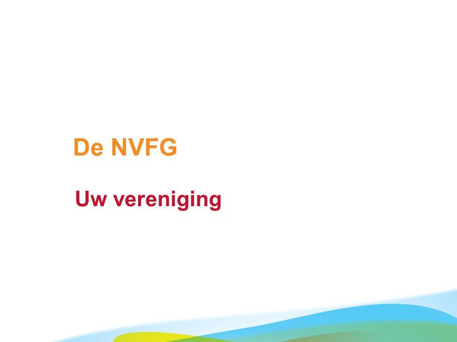 De NVFG Uw vereniging