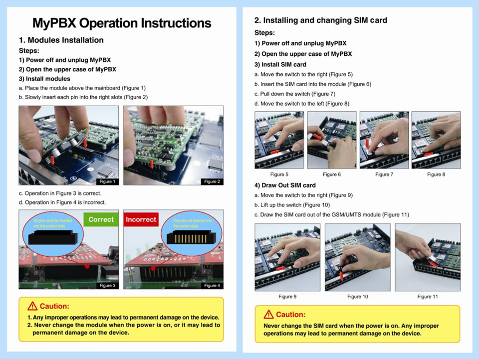 Introduction– Operation Instructions