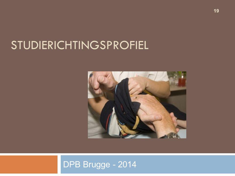 STUDIERICHTINGSPROFIEL 19 DPB Brugge - 2014