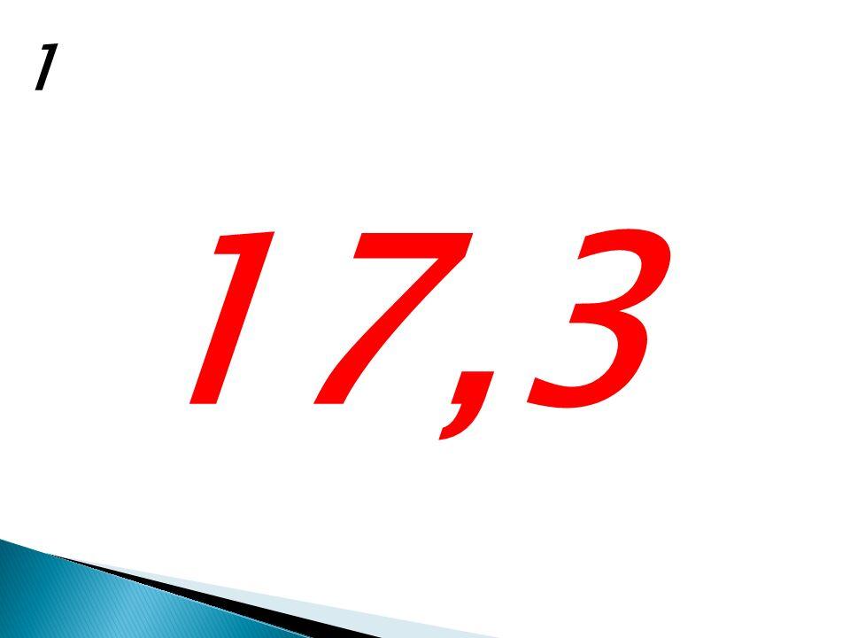 1 17,3