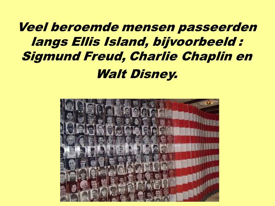 Ellis Island was vroeger een immigratiestation. Het was de eerste halte voor bijna 17 miljoen immigranten.