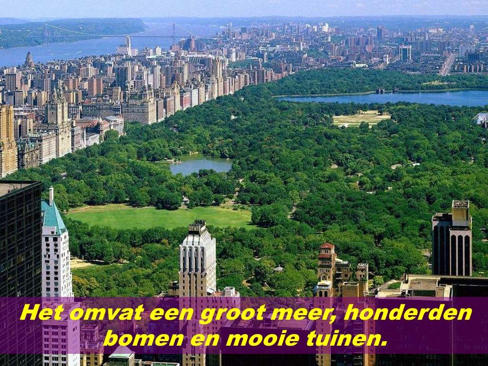 Central Park beslaat 6% van Manhattan.