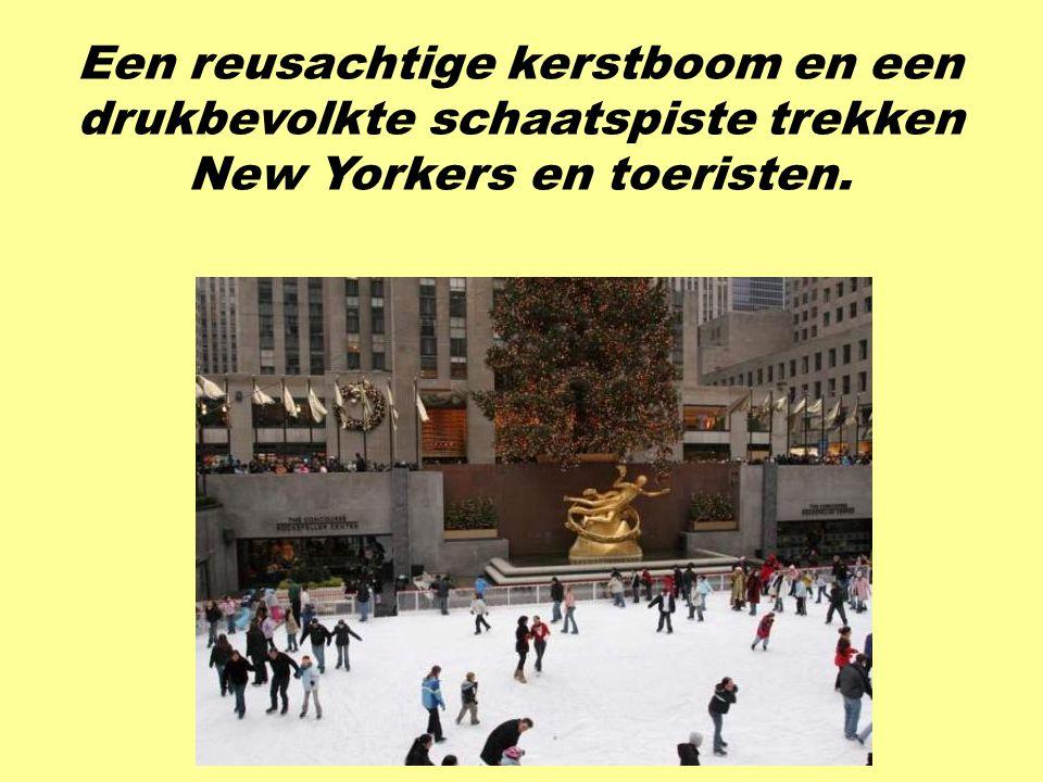 Het Rockefeller Center omvat veel gebouwen, maar het wordt meest in de winter bezocht.