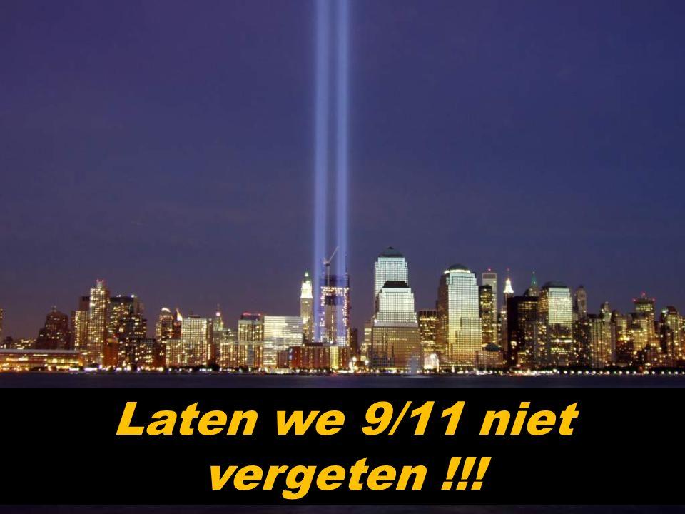 """Maar op 11 september 2001, (9/11) voor de Amerikanen, lieten radicale moslims twee vliegtuigen tegen de torens te pletter vliegen. Nu is die plek """" Gr"""