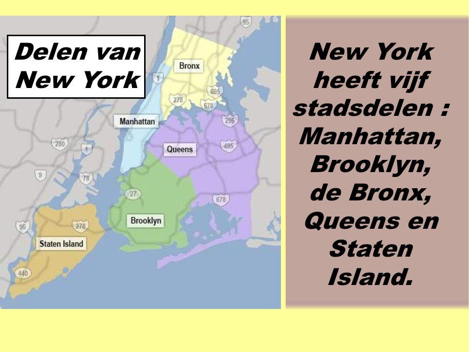 In New York City wonen 8 miljoen mensen.