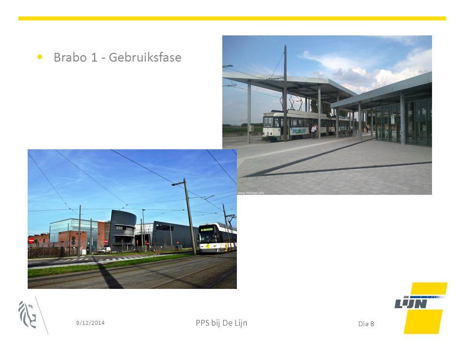 Brabo 1 - Gebruiksfase 9/12/2014 PPS bij De Lijn Dia 8