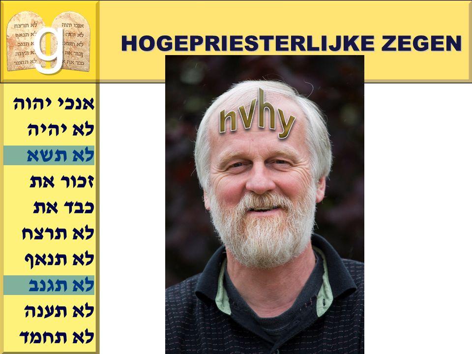 Gerard J.Wijtsma HOGEPRIESTERLIJKE ZEGEN