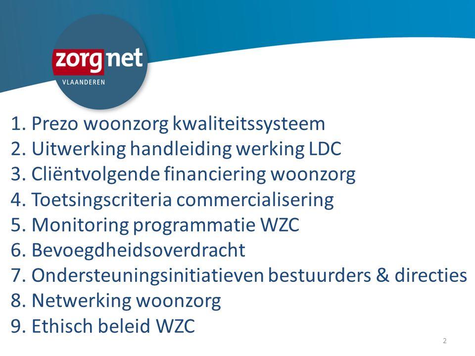 Uitwerking handleiding werking LDC Evaluatie project 2013: -Handleiding is klaar in kladversie.