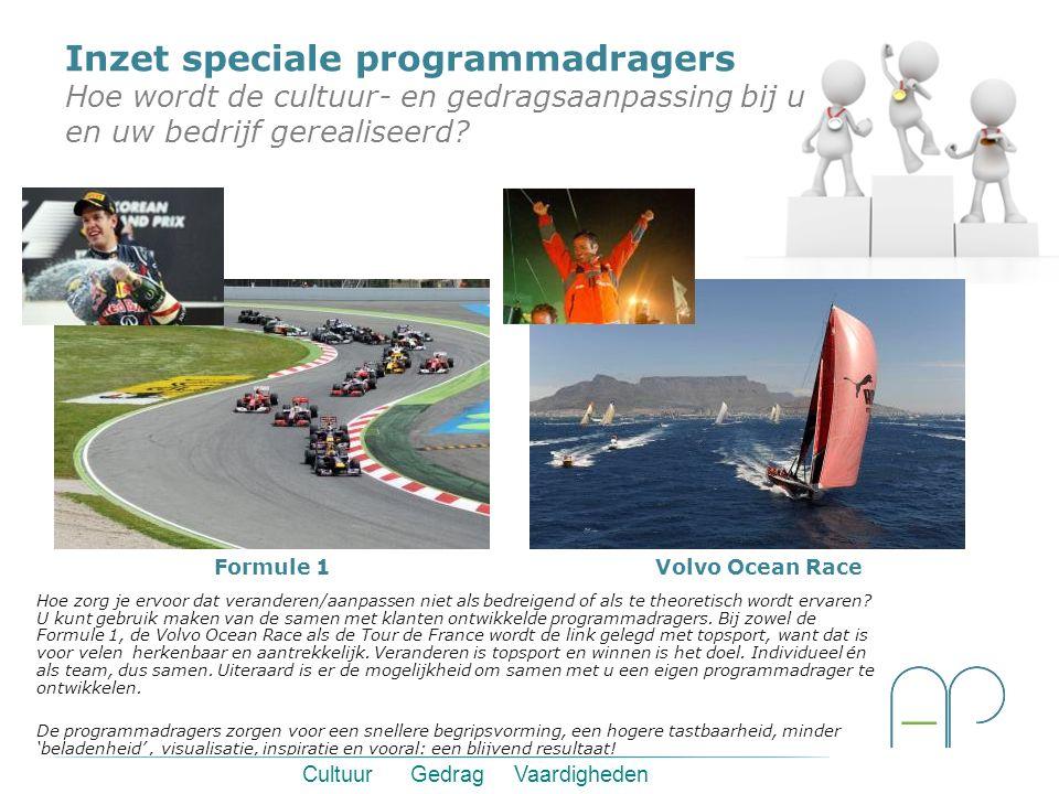 Cultuur Gedrag Vaardigheden Formule 1 Hoe zorg je ervoor dat veranderen/aanpassen niet als bedreigend of als te theoretisch wordt ervaren? U kunt gebr