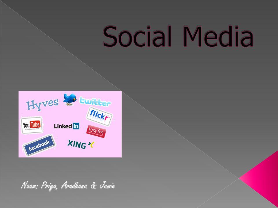  Intro Dia 3 t/m 23  FacebookDia 24 t/m 57  TwitterDia 58 t/m 95  HyvesDia 96 t/m 125  AfsluitingDia 126