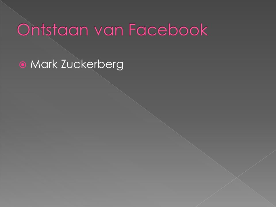  Mark Zuckerberg