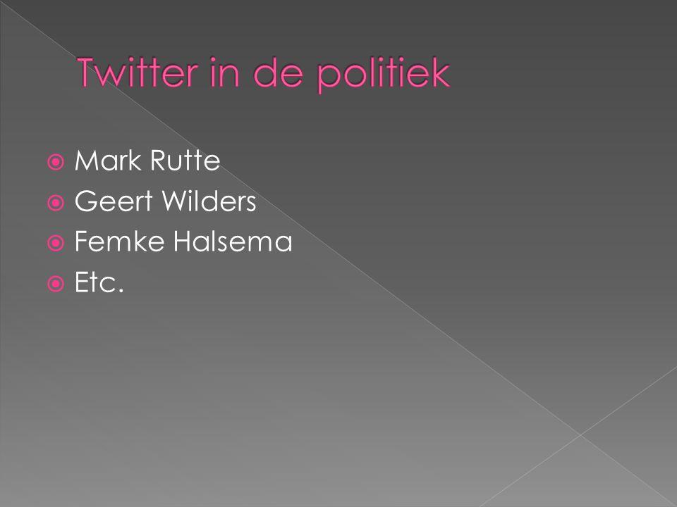  Mark Rutte  Geert Wilders  Femke Halsema  Etc.