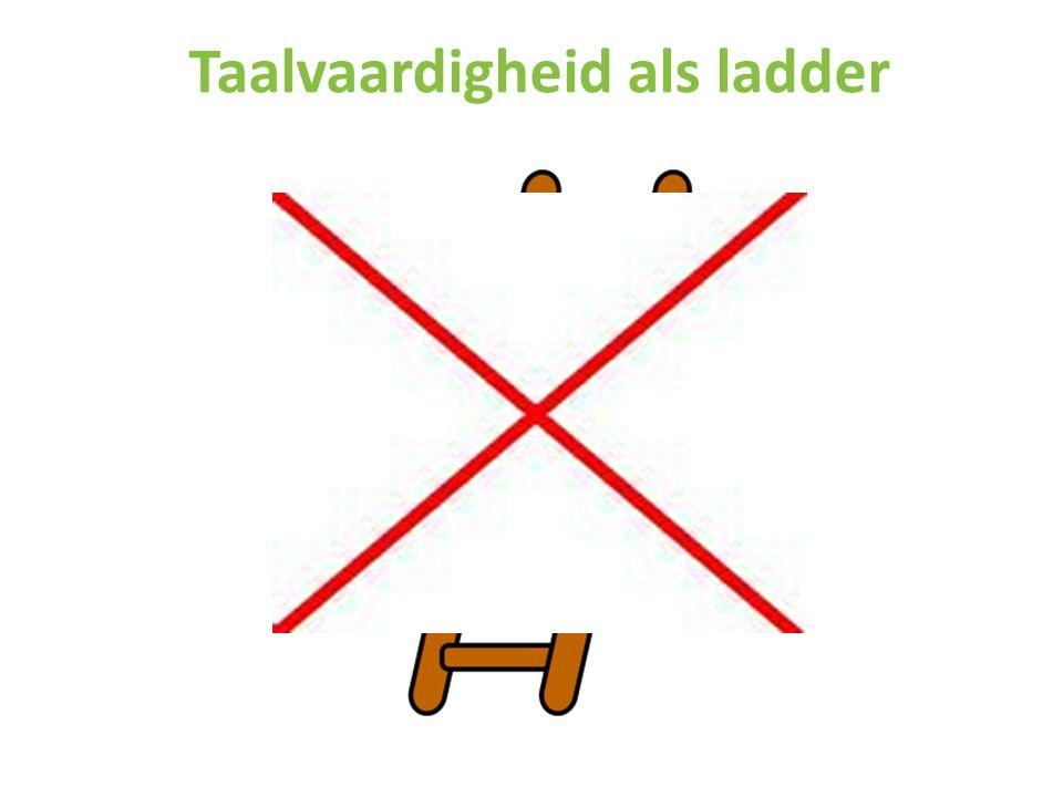 Taalvaardigheid als ladder