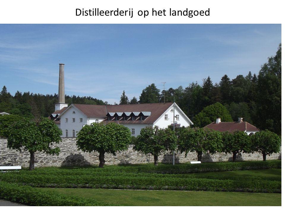 Distilleerderij op het landgoed