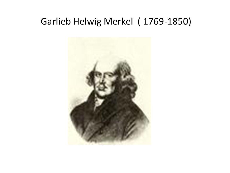 Garlieb Helwig Merkel ( 1769-1850)