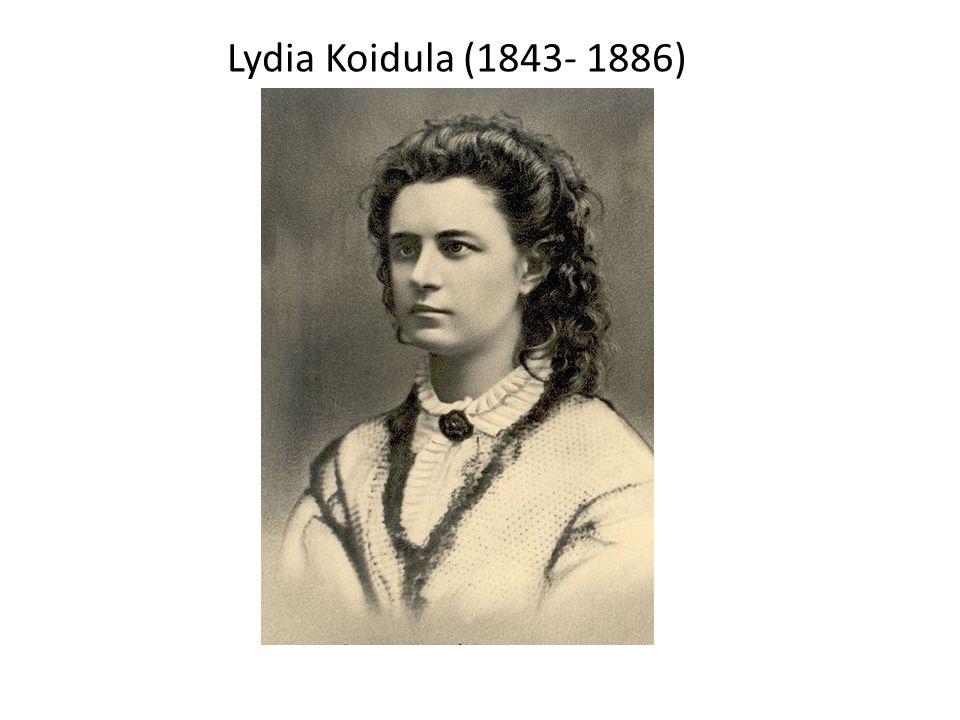 Lydia Koidula (1843- 1886)