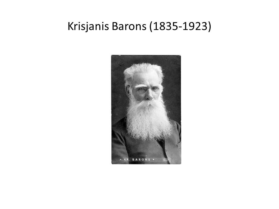 Krisjanis Barons (1835-1923)