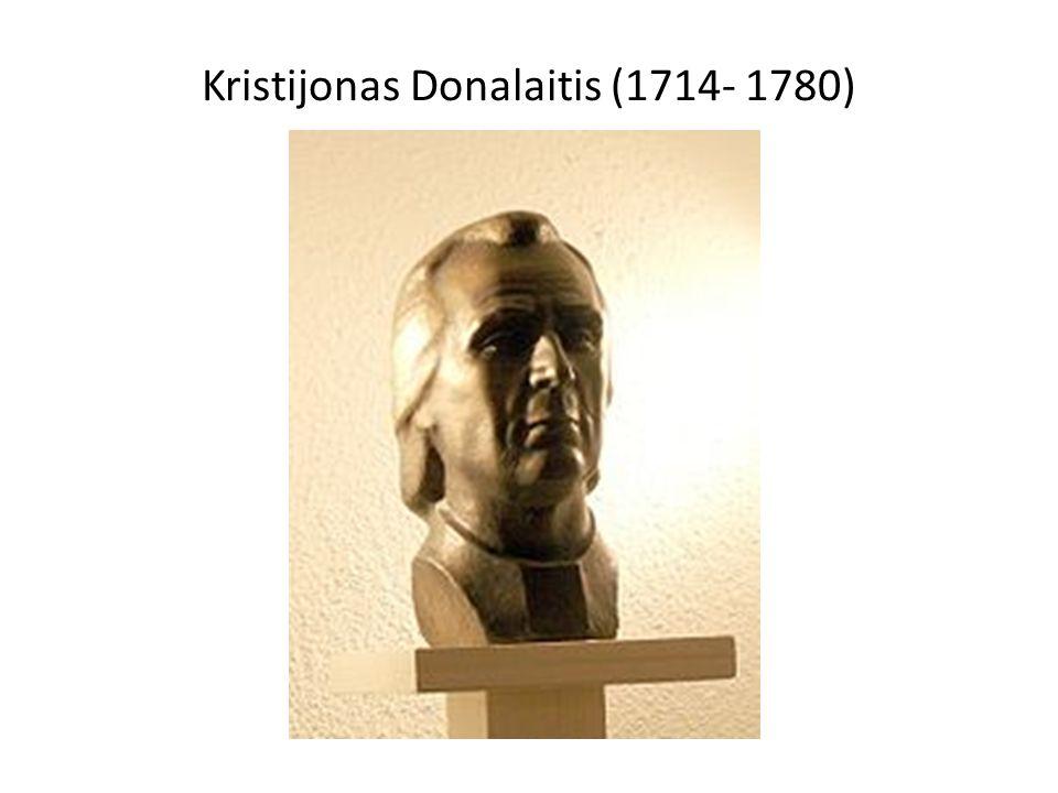 Kristijonas Donalaitis (1714- 1780)
