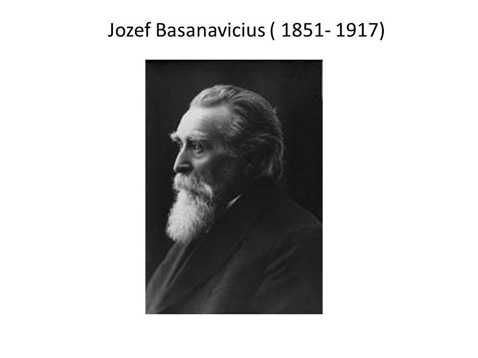 Jozef Basanavicius ( 1851- 1917)