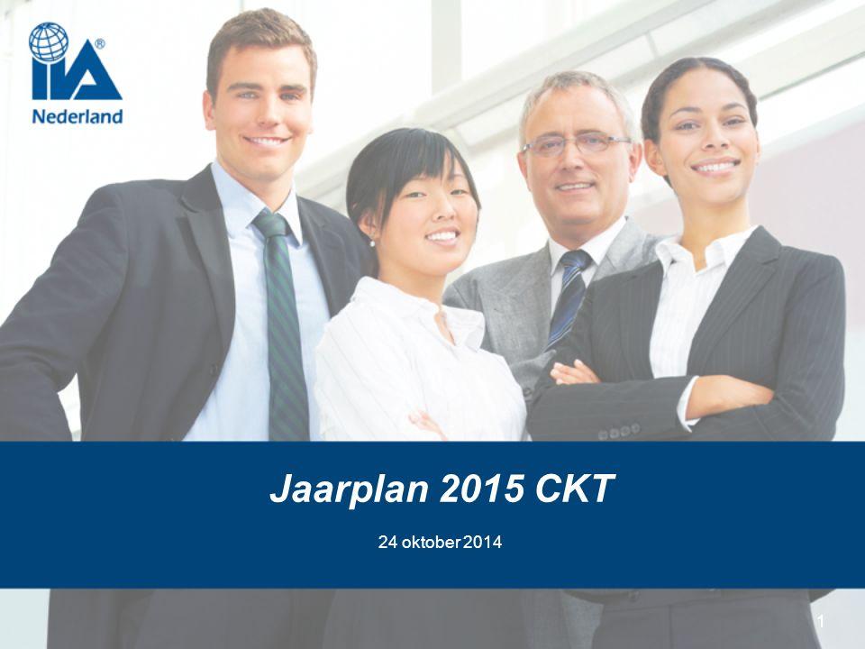 11 Jaarplan 2015 CKT 24 oktober 2014