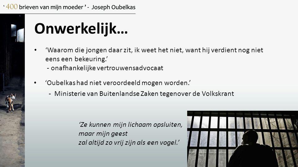 Het gevangenisleven…