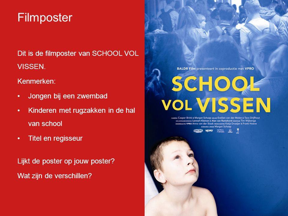 Dit is de filmposter van SCHOOL VOL VISSEN.