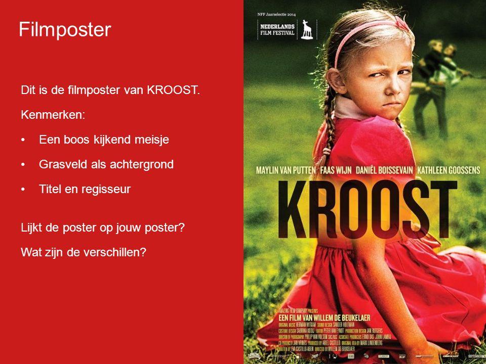 Dit is de filmposter van KROOST.