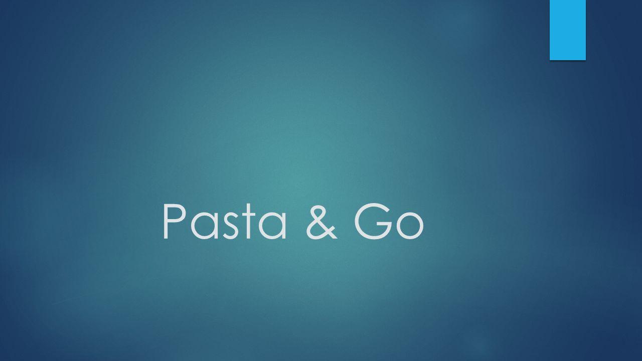 Pasta & Go