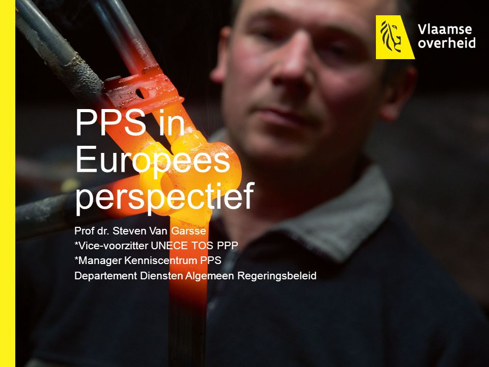 PPS in Europees perspectief Prof dr.