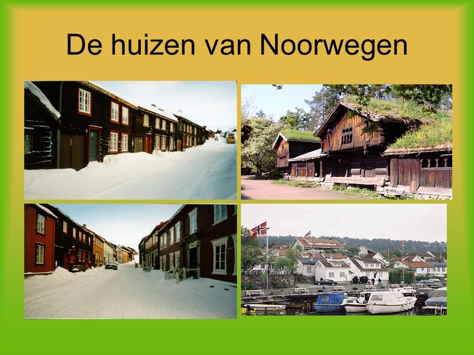 De huizen van Noorwegen