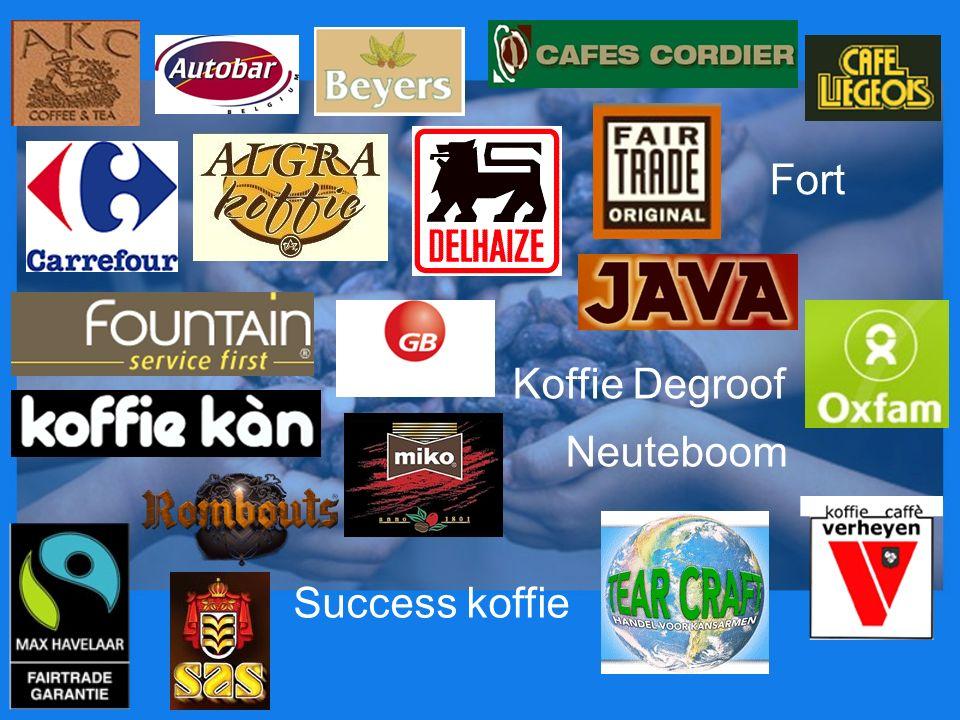 Success koffie Neuteboom Koffie Degroof Fort