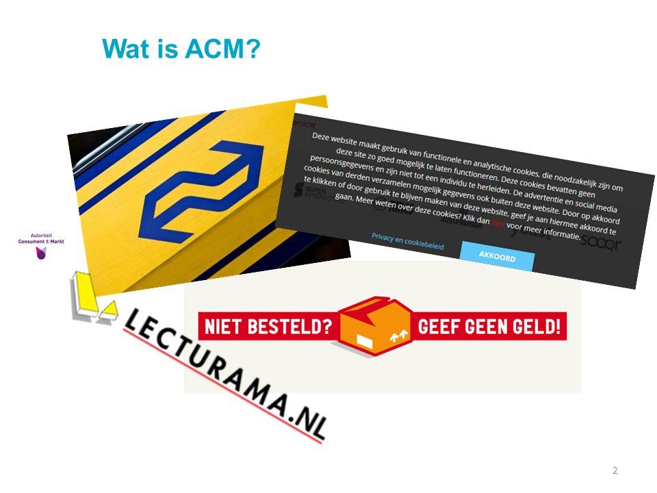 Wat is ACM? 2