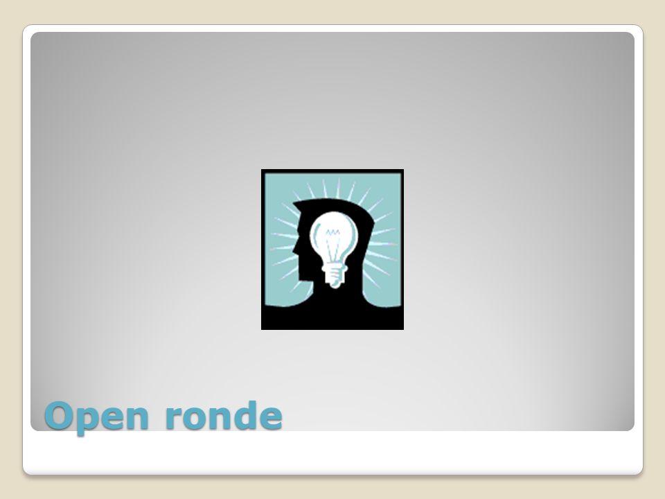 Open ronde