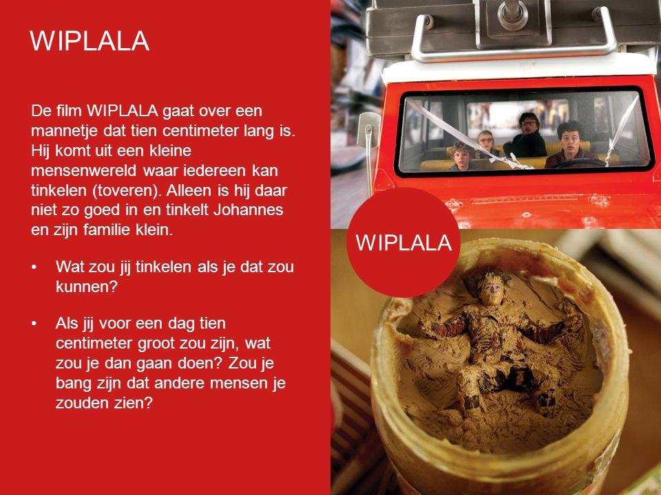 Filmp oster De film WIPLALA gaat over een mannetje dat tien centimeter lang is.