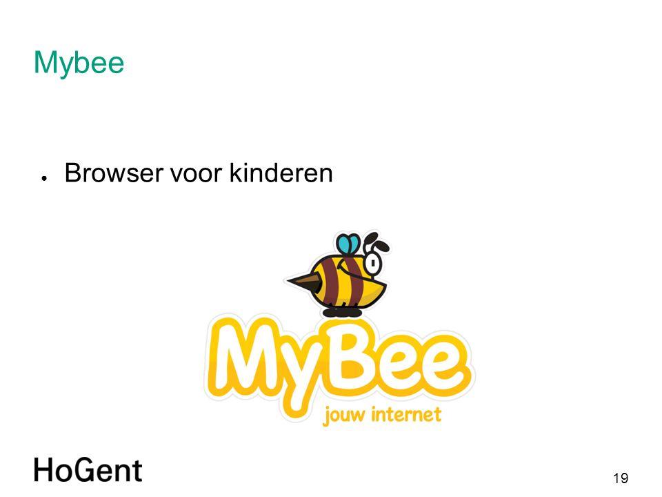 19 Mybee ● Browser voor kinderen