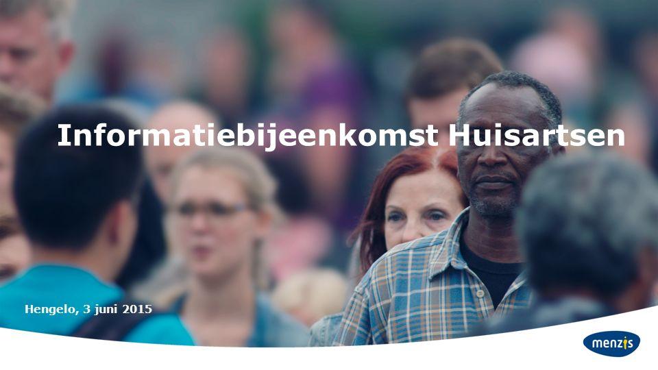 Informatiebijeenkomst Huisartsen Hengelo, 3 juni 2015