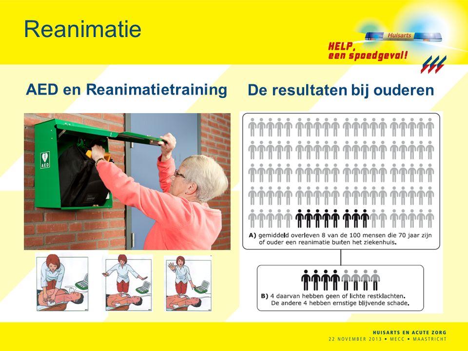 Reanimatie AED en Reanimatietraining De resultaten bij ouderen