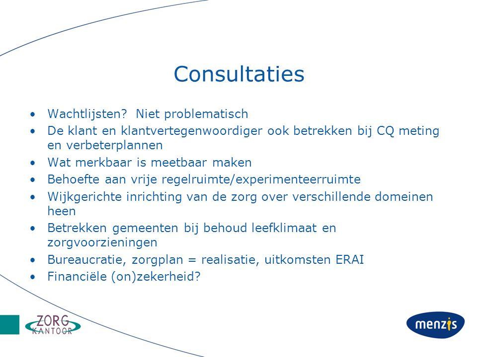 Consultaties Wachtlijsten.