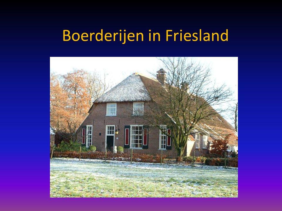 Boerderijen in Friesland