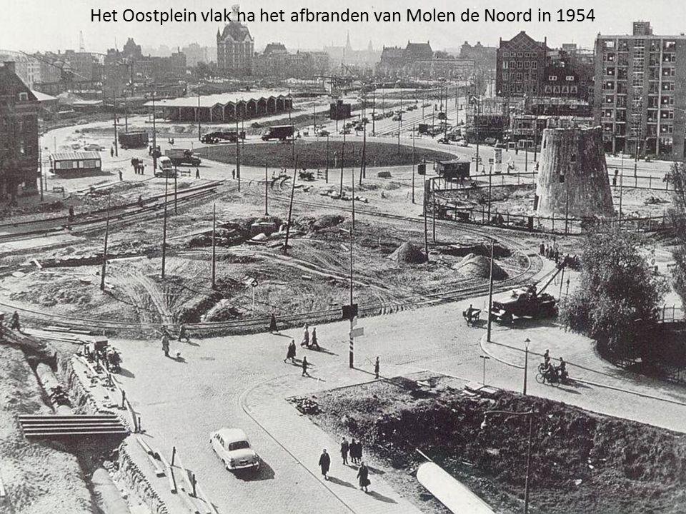 Het bouwen van de Maastunnel op 18 juni 1940