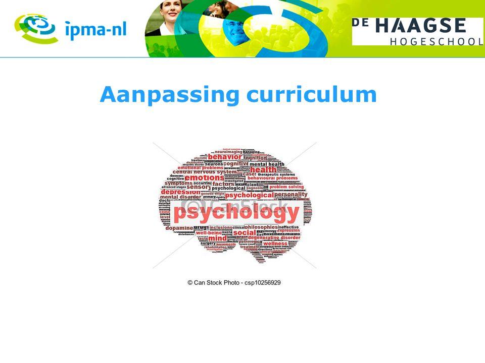 Aanpassing curriculum