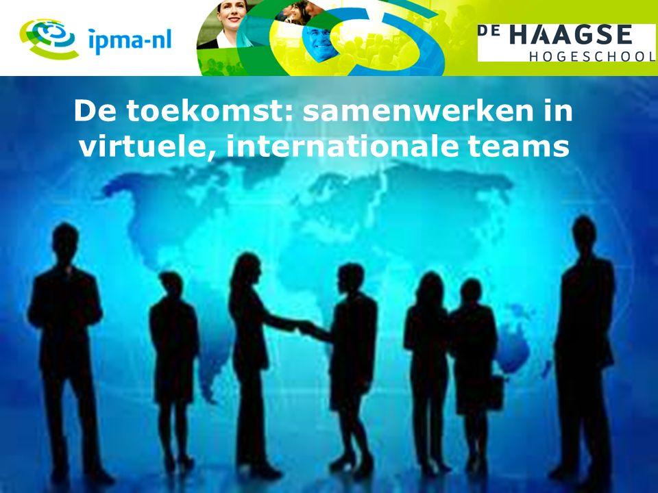 De toekomst: samenwerken in virtuele, internationale teams