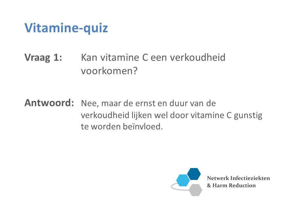 Vitamine-quiz Vraag 2: Kunnen medicijnen je vitaminebehoefte beïnvloeden.