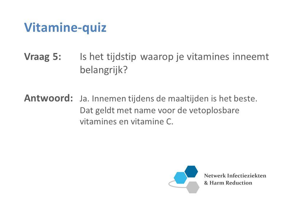 Vitamine C: antioxidantfunctie Vitamine D: de zon als belangrijkste bron Vitamine C en D