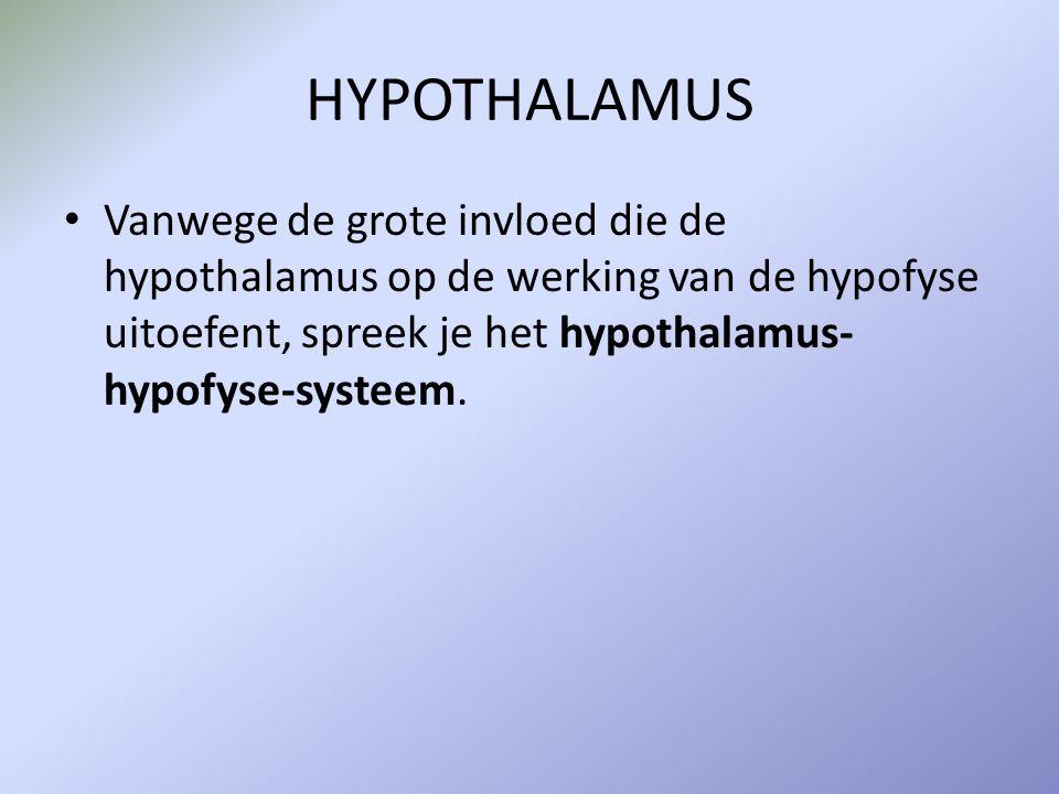 ADH – anti-diuretisch hormoon Anti-Diuretisch Hormoon (ADH) wordt aangemaakt wanneer osmosensoren in de hypothalamus een te hoge osmotische waarde van het bloed registreren.