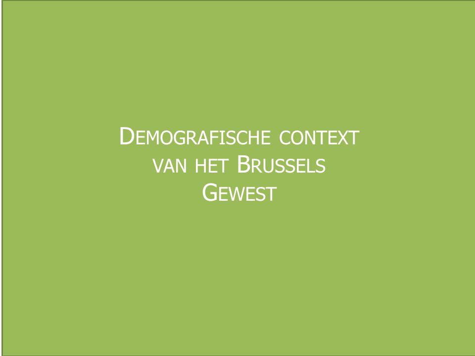 W AAR WONEN DE BRUSSELSE KINDEREN Bron: BISA, 2012,wijkmonitoring