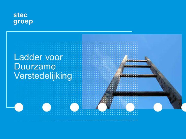 Aandachtspunt: structuurvisie Keuzen over toekomstige ruimtelijke ontwikkelingen baseren op inschatting regionale vraag met oog voor zorgvuldige ruimtelijke inpassing Ladder als denkraam hiervoor heel geschikt Maar: Bro verplicht gebruik ladder niet voor structuurvisie Als ladder goed is toegepast in structuurvisie bij verstedelijkingsopgaven kan verplichte toelichting bij bestemmingsplannen, die desbetreffende structuurvisie als strategisch kader hanteert, hiernaar wel verwijzen Zolang behoefte nog actueel is