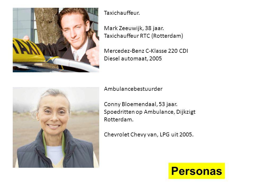 Taxichauffeur. Mark Zeeuwijk, 38 jaar.